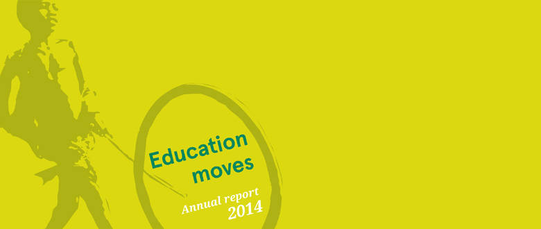 VVOB's Annual Report 2014: Education Moves