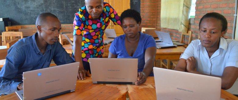 Blending CPD of school leaders in Rwanda