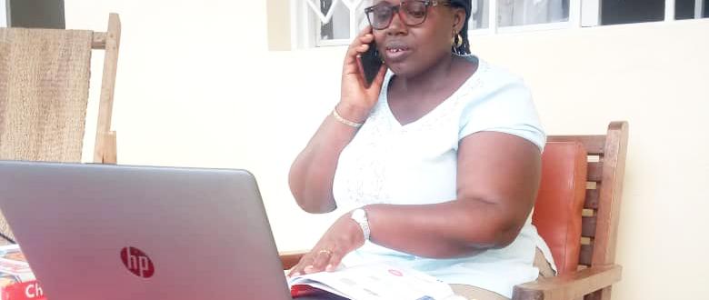 Teacher Ms Honorée Dukuzumuremyi