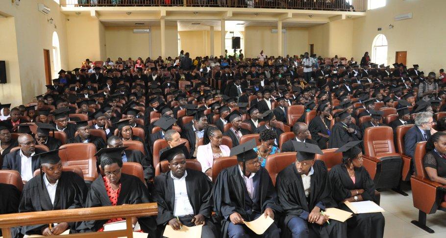 Audience of Graduates