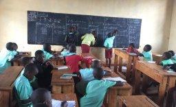 Jana teaching maths